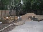 Construction zone a.k.a driveway