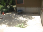 Flagstone patio is complete.