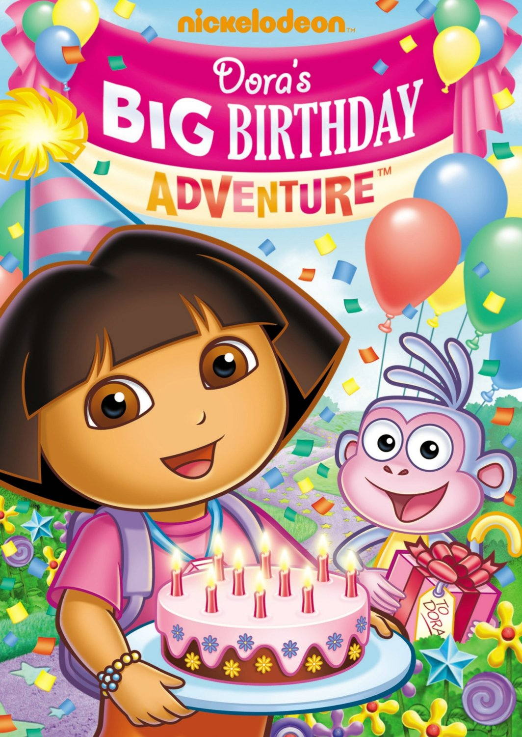 Dora's Big Birthday Adventure invitation – While Everyone ...