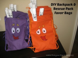 DIYBackpackRescuePackFavorBags