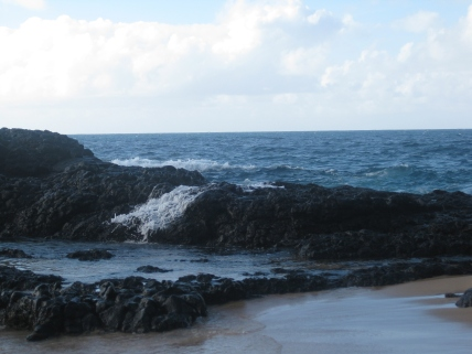 Unnamed beach on the North Shore